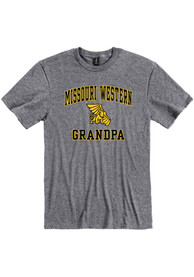 Missouri Western Griffons Grandpa Graphic T Shirt - Grey