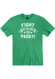 Kansas City Heather Green Fight For Your Right Short Sleeve T Shirt