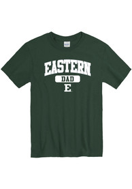 Eastern Michigan Eagles Dad Graphic T Shirt - Green