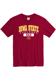 Iowa State Cyclones Dad Graphic T Shirt - Maroon