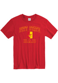 Pitt State Gorillas Dad Graphic T Shirt - Red