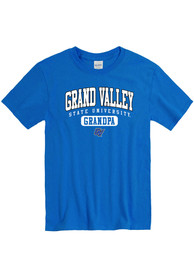 Grand Valley State Lakers Grandpa Graphic T Shirt - Blue