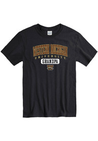 Western Michigan Broncos Grandpa Graphic T Shirt - Black