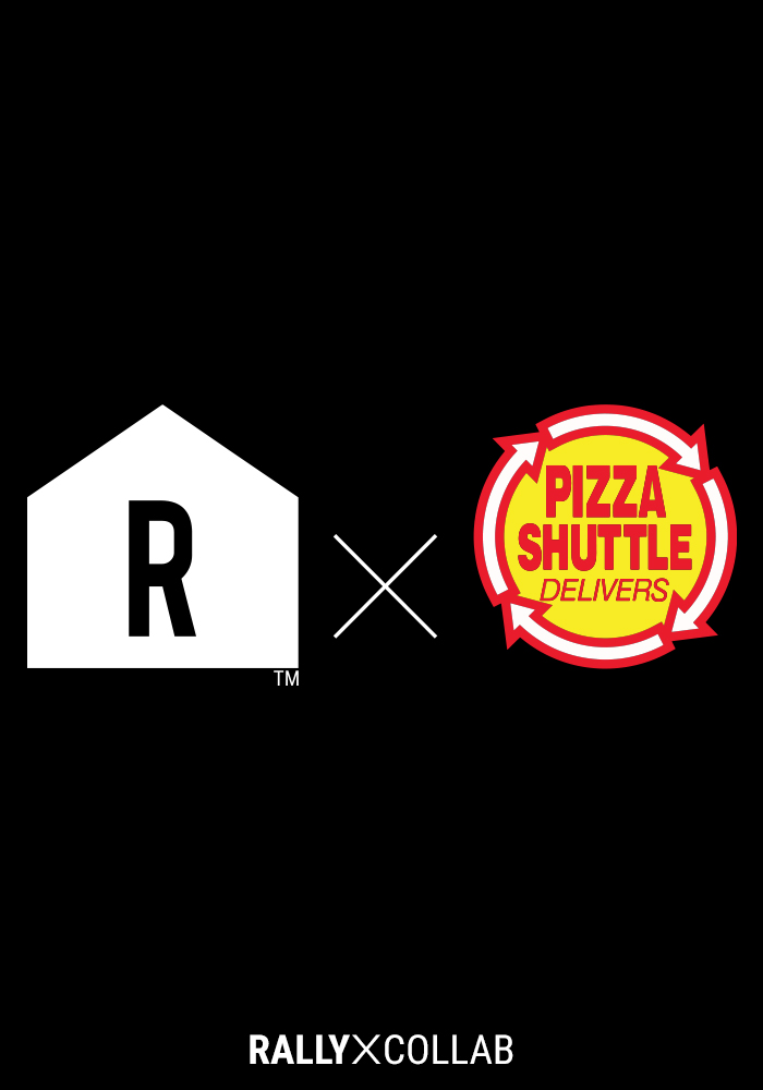 Pizza Shuttle Navy BTTF On Time 80s Pixelated Short Sleeve T-Shirt - Image 3