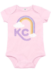 Kansas City Baby KC Rainbow One Piece - Pink