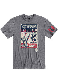 Kansas City Monarchs Rally Poster Inspired Fashion T Shirt - Grey
