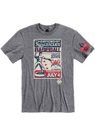 Chicago American Giants Rally Poster Inspired Fashion T Shirt - Grey