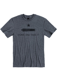 Texas Heather Navy Come And Take It Short Sleeve T-Shirt