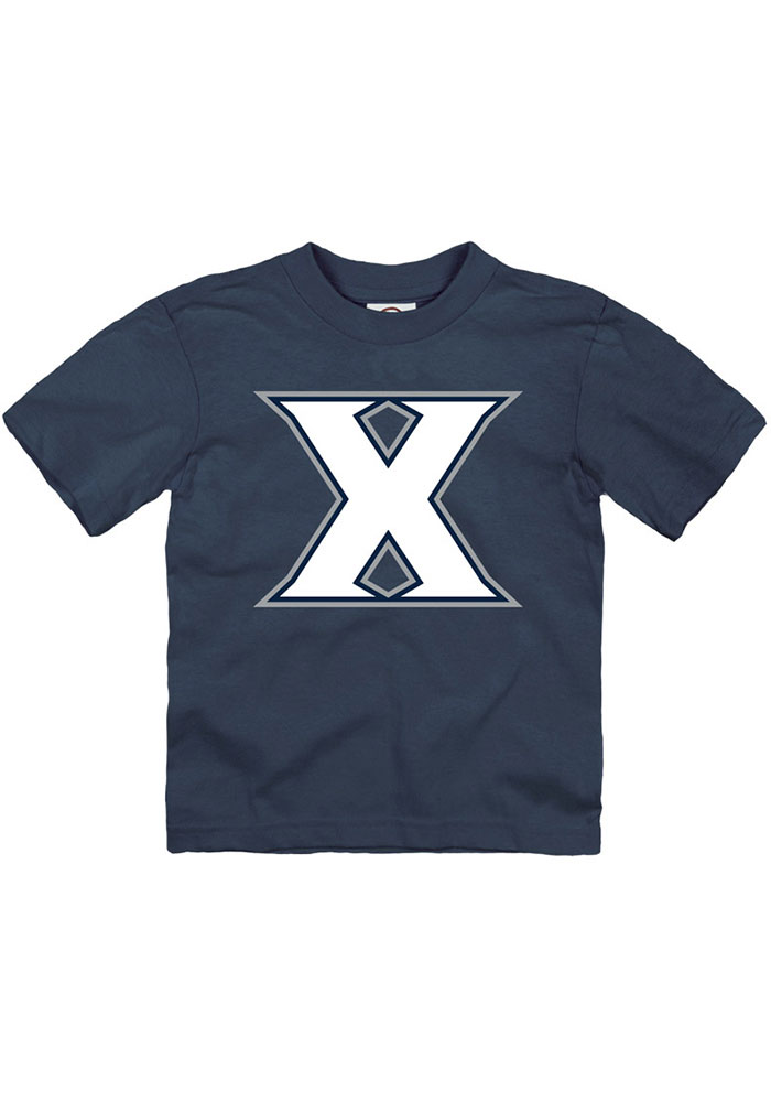 Xavier Musketeers Toddler Navy Blue Primary Logo Short Sleeve T-Shirt - Image 1