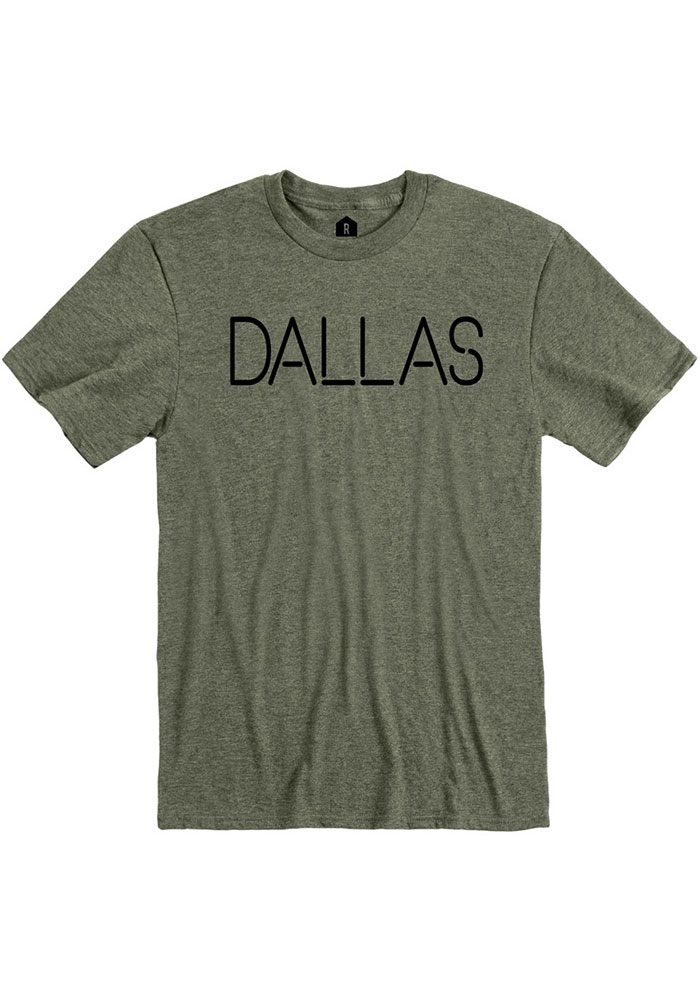 Dallas Heather City Green Disconnected Short Sleeve T-Shirt - Image 1