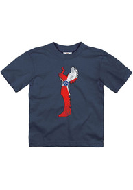 Wichita Toddler Navy Flag Keeper Short Sleeve T-Shirt