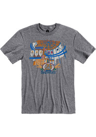 23rd Street Brewery Graphite Atrium Building Short Sleeve T-Shirt