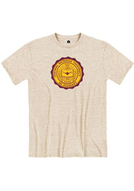 Central Michigan Chippewas Rally Seal T Shirt - White
