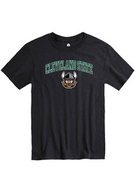 Cleveland State Vikings Rally Arch Mascot T Shirt - Black