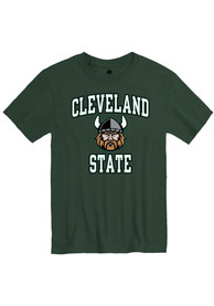 Cleveland State Vikings Rally Number One T Shirt - Green