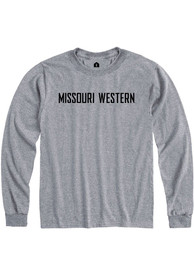 Missouri Western Griffons Rally Rally Loud T Shirt - Grey