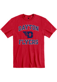 Dayton Flyers Rally Ringspun Number One T Shirt - Red