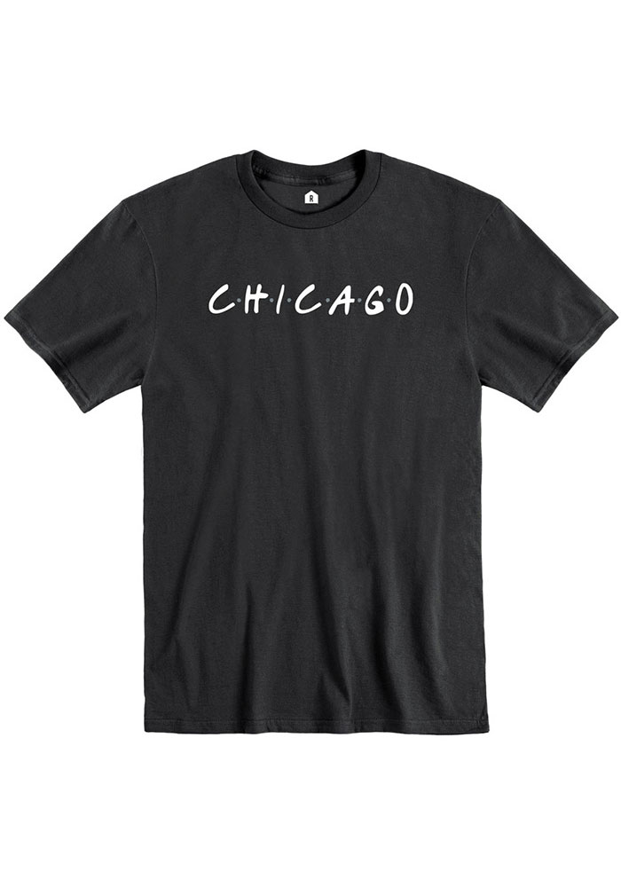 Rally Chicago Black Dots Short Sleeve T Shirt - Image 1
