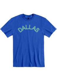 Dallas Royal Neon Arch Short Sleeve T-Shirt