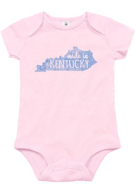 Kentucky Infant Light Pink Made In Onesie