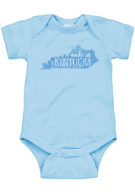 Kentucky Infant Light Blue Made In Onesie