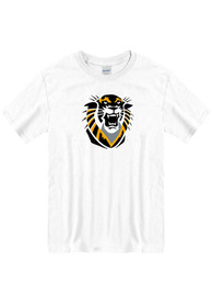 Fort Hays State Tigers Primary Logo T Shirt - White