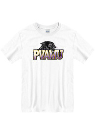 Prairie View A&M Panthers Primary Logo T Shirt - White