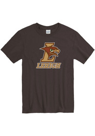 Lehigh University Team Logo T Shirt - Brown