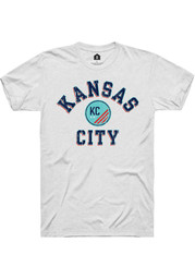 Rally KC NWSL White Heart And Soul Short Sleeve Fashion T Shirt