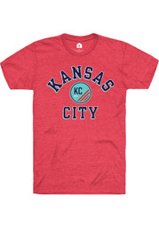 Rally KC NWSL Red Heart And Soul Short Sleeve Fashion T Shirt