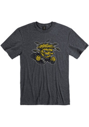 Wichita State Shockers Black Fade Out Tee
