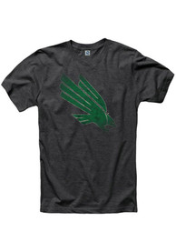 North Texas Mean Green Black Fade Out Tee