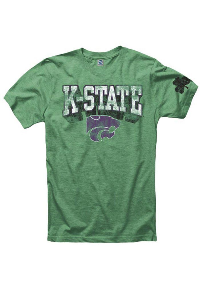 K-State Wildcats Green St. Patrick`s Day Tee