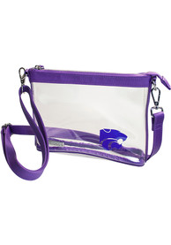 K-State Wildcats White Stadium Approved Clear Bag