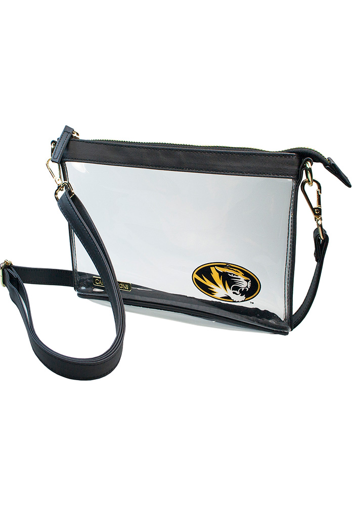 6f98a34bd8ba Missouri Tigers White Stadium Approved Clear Bag
