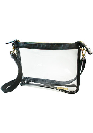 Black Stadium Approved Clear Bag