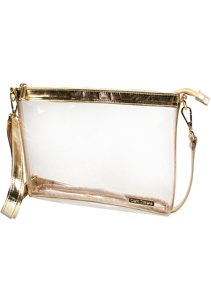 Gold Stadium Approved Clear Bag - Image 1