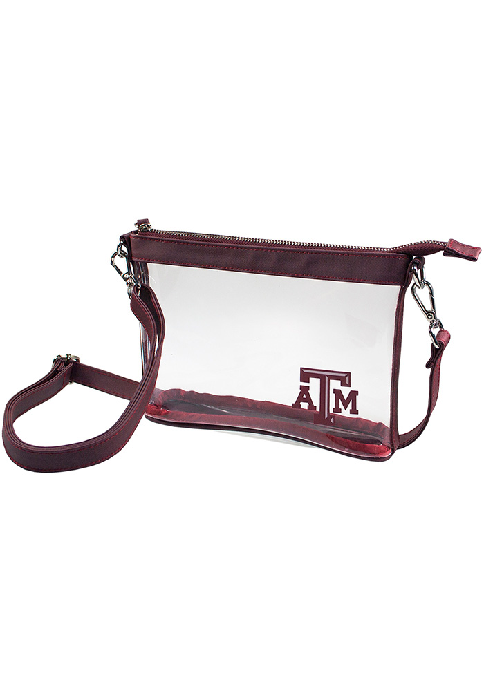 Texas A&M Aggies Maroon Stadium Approved Clear Bag - Image 1