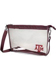 Texas A&M Aggies Maroon Stadium Approved Clear Bag
