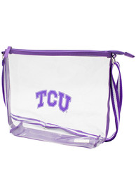 TCU Horned Frogs Stadium Approved Backpack - White