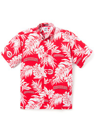 Cincinnati Reds Aloha Dress Shirt - Red