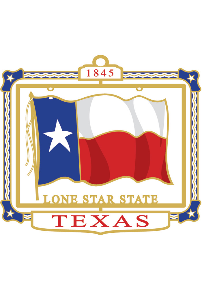 Texas Texas State Flag Color Ornament - Image 1