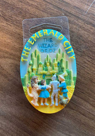 Wizard of Oz Emerald City Resin Magnet