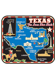 Texas Colored Map Magnet