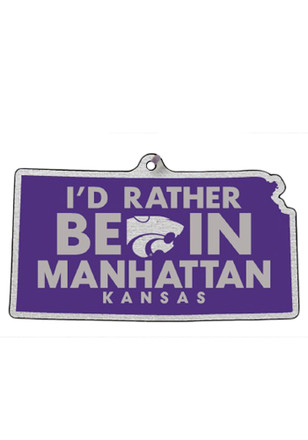 K-State Wildcats I`d Rather be in Manhattan Ornament