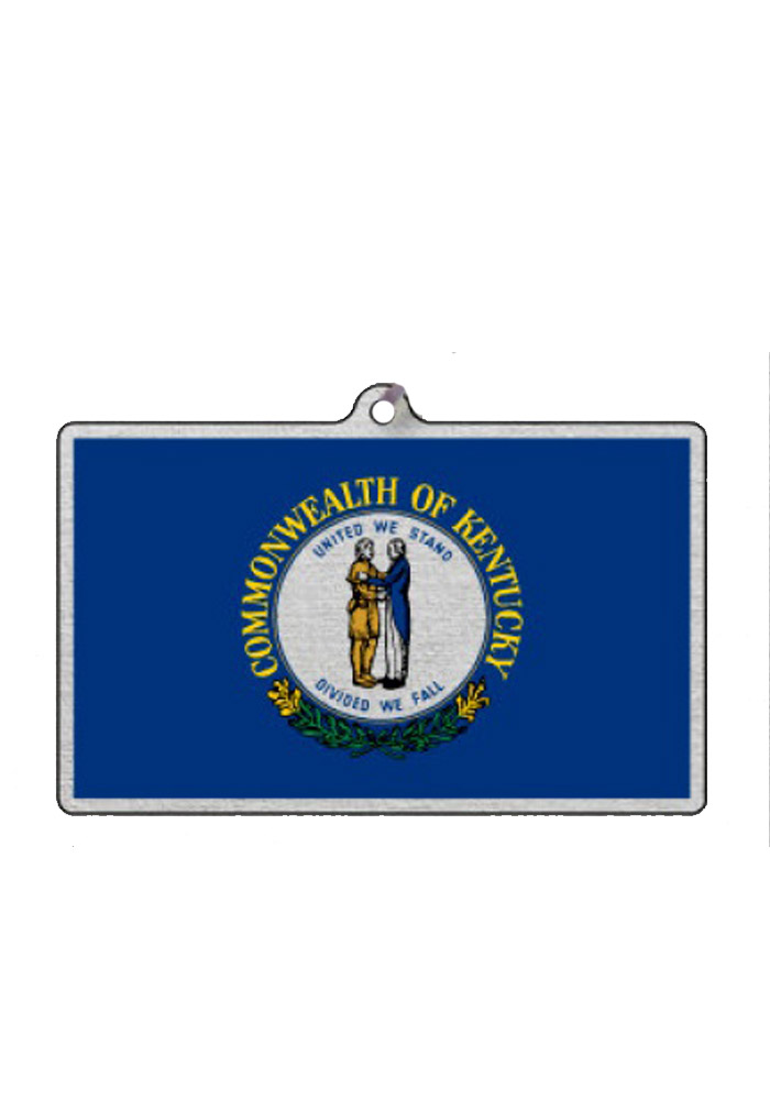 Kentucky State Flag Ornament - Image 1