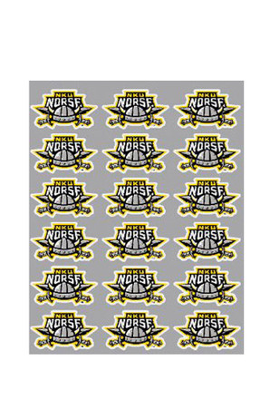 Northern Kentucky Norse Team Logo Stickers