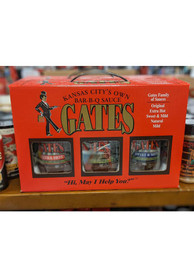 Gates Bar-B-Q Sauce Gift Box