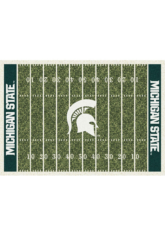 Michigan State Spartans 3x5 Homefield Interior Rug - Image 1