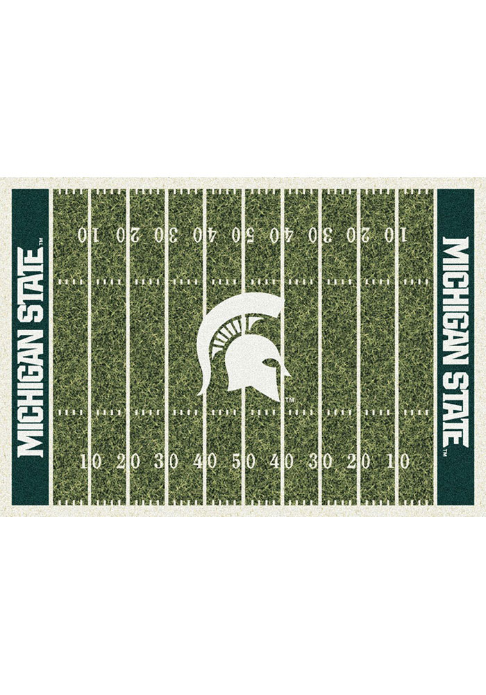Michigan State Spartans 7x10 Homefield Interior Rug - Image 1